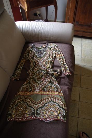 Robe LolaLiza Khaki Camo Oriental Sunset Raplan